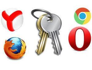 как удалить пароли в браузере