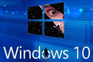 слежка в windows 10