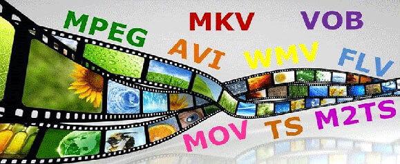 распространенные форматы видео файлов