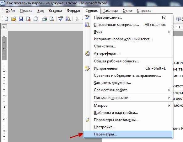 документ word 2003