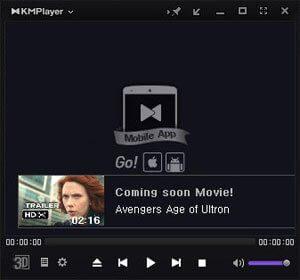 kmplayer убрать рекламу