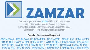 онлайн сервис zamzar