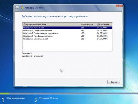 редакции windows 7