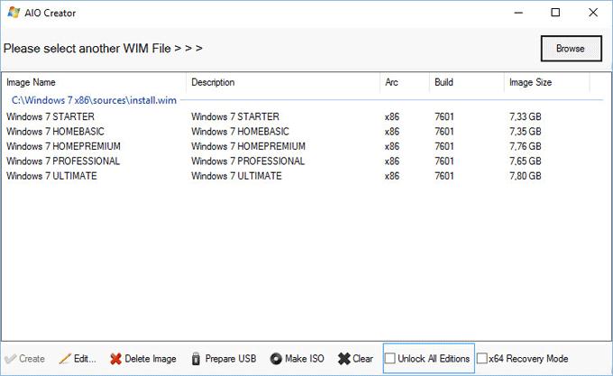 windows 7 x86