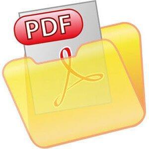 как сохранить файл в формате pdf