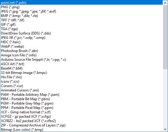 форматы файлов