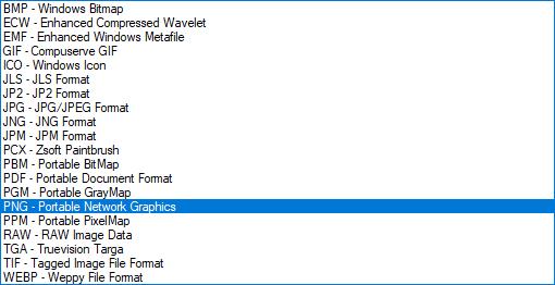 графические форматы