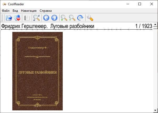 epub в cool reader
