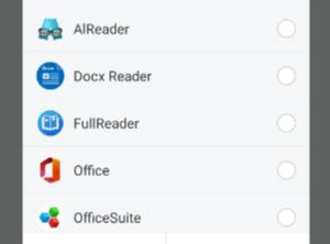 как открыть файл docx на андроиде