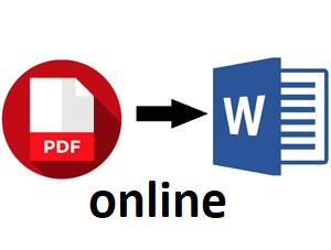 pdf в word онлайн