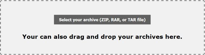 добавление архива